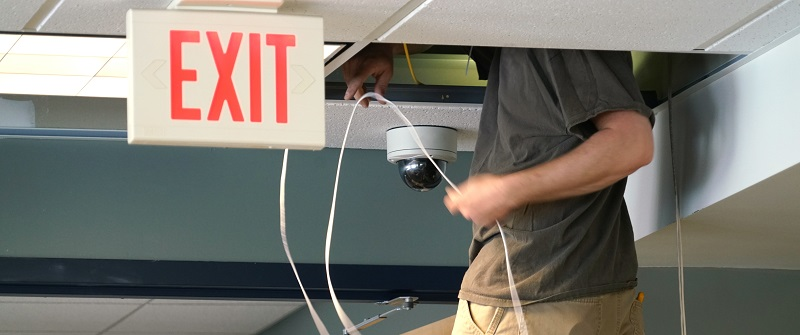 Professional security installation training
